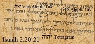 Isaiah scroll dead sea